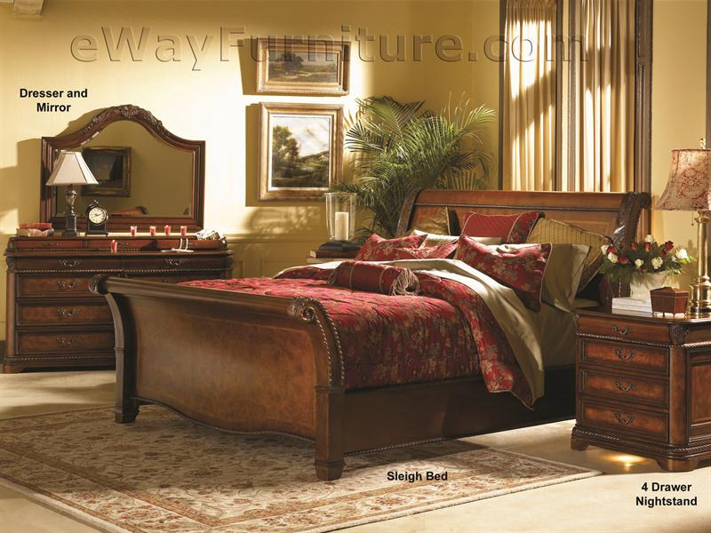 Vineyard Sleigh Bedroom Set : 1464Main from www.ewayfurniture.com size 800 x 600 jpeg 128kB