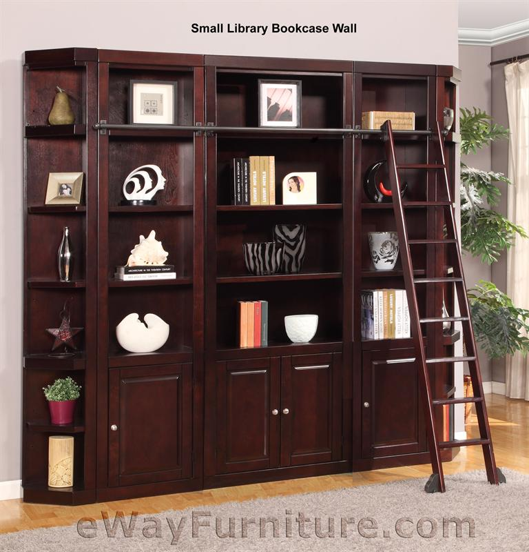 Small Library Bookcase Wall Units 768 x 800