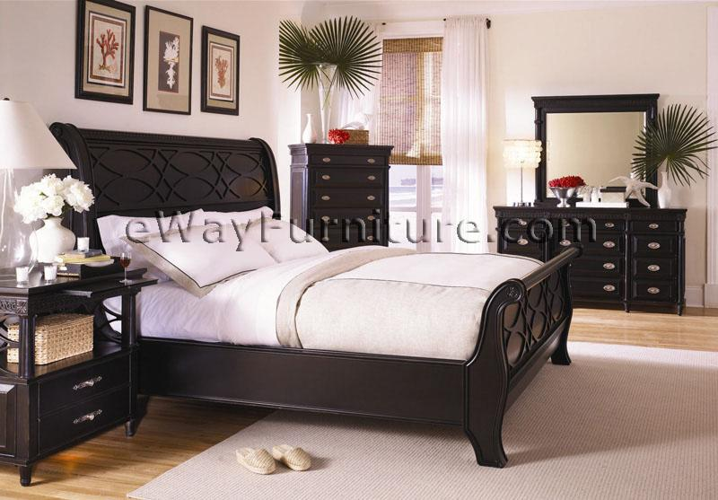 Dresser - Black queen bedroom furniture set ...