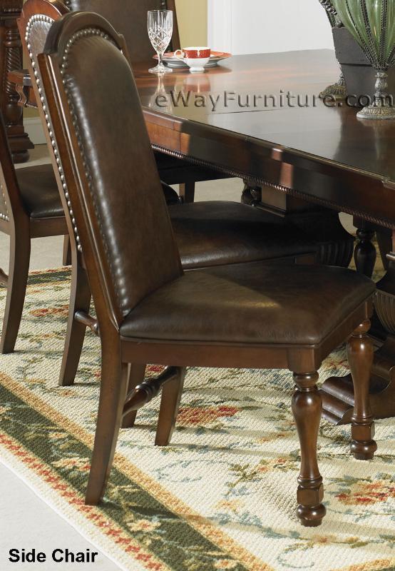 Hacienda Trestle Dining Room Table Set