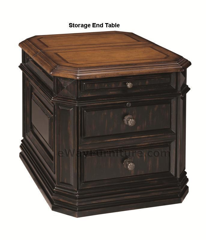 Laptop Storage End Table