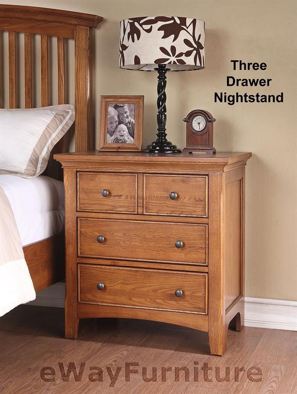 ashland shaker style slat bed bedroom furniture set