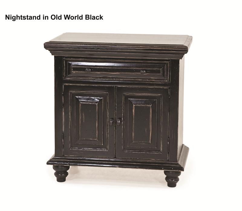 Rustic Hand Crafted Black San Antonio Bed Bedroom Set