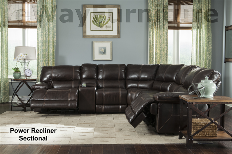 Parker Living Comfortable And Durable Socrates Power Recliner Sectional In Mink Ebay