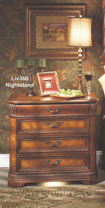 Aspenhome Napa Sleigh Bedroom Set